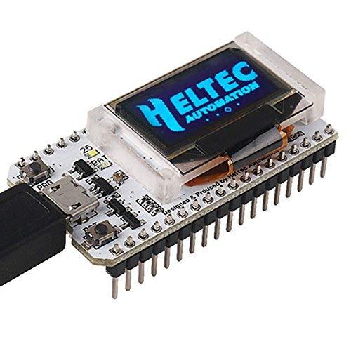 915MHZ Antenna per Arduino MakerHawk Scheda di Sviluppo ESP32 WiFi Bluetooth Lora Dual Core 240MHz CP2102 con Display OLED da 0,96 Pollici e 868