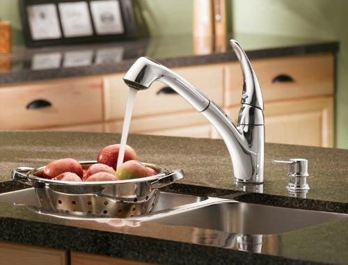 Eva Chrome onehandle high arc bathroom faucet  moencom