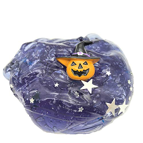 Ulanda Colorful Fluffy Slime, 2018 New Cloud Slime Putty Scented Stress Relief Toy Sludge Toys, Soft and Non-Sticky (Halloween Pumpkin 100ml) -