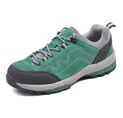 Z&HX sportsEscalada Al Aire Libre X Zapatos De Senderismo De Ocio De Ocio Antideslizante Zapatos Transpirables green