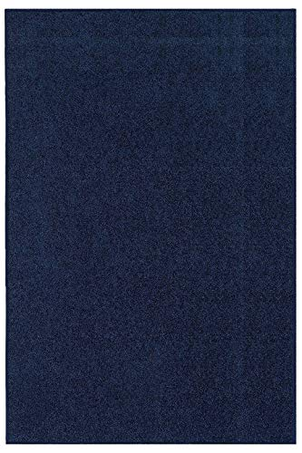 (Ambiant Kids Solid Color Navy 2'x4' - Area Rug)