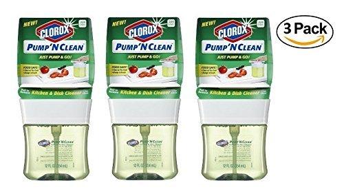 3 Pk. Clorox Pump N Clean Crisp Citrus Citrus 12oz