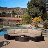 Cheap 6 Piece Lounge Seating Group with Cushions