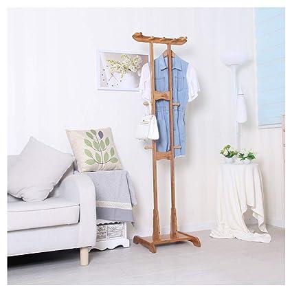 nuovi prezzi più bassi scegli l'autorizzazione lussureggiante nel design GAOLIHUA Appendiabiti Alto 174 cm Bamboo Primary Color 18 ...