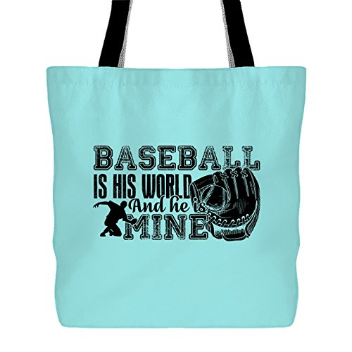 Peel Lemon Baseball (Baseball Mom Tote Bag, Handbags For Women (Light Green Tote Bag))