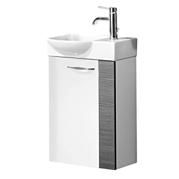Fackelmann gäste wc waschtisch sceno
