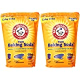 2 x 13.5 Pounds Arm & Hammer Pure Baking Soda (27 Pounds Total)