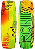 Ronix 2016 Vision - Matte Orange / GP Yellow Squigglies - 120cm Wakeboard
