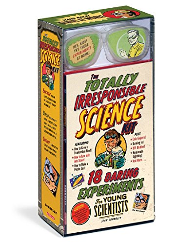 The Totally Irresponsible Science Kit , Educational Books Toys, 2017 Christmas (Red Stone Rocket)