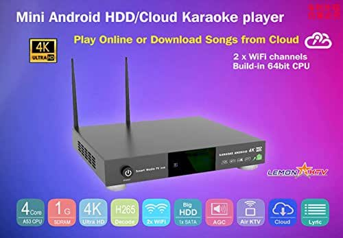 ANDROID KHP-8816 Vietnamese KARAOKE PLAYER 6TB HDD HARD DRIVE LOAD WITH 57000+ VIETNAMESE and another SONGS