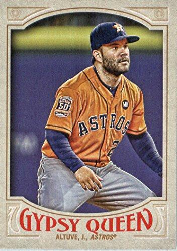 2016 Topps Gypsy Queen Baseball #155 Jose Altuve Houston - Astros Houston Album Photo
