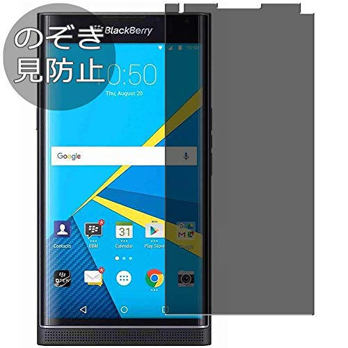 Synvy Privacy Screen Protector Film for BlackBerry Priv 0.14mm Anti Spy Protective Protectors [Not Tempered Glass] Updated Version