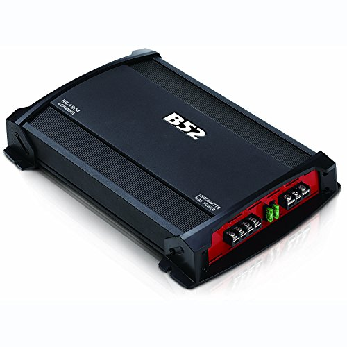 B52CarAudio RC-1804 (1800W) 4-Channels 2 to 4 Ohm Car Amplifier