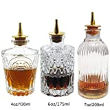 Bitters Bottle Set - Glass Bitter Bottle, with