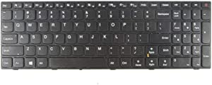 Keyboard for Lenovo IdeaPad 110-15ISK US Non-Backlit with Frame Black