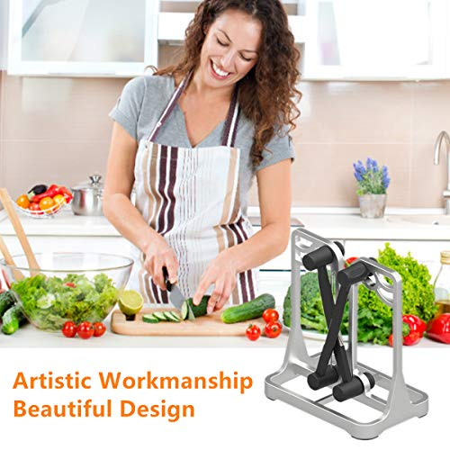 Knife Sharpener As Seen On TV - Upgrade Made of Full Metal Bracket - Sharpens & Hones & Polishes Beveled Blades, Standard Blades, Chef's Knives - Safe & Easy to Use Kitchen Tools by Ehoyal by Ehoyal (Image #6)