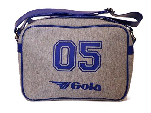 Gola - Bolso al hombro de Lona para hombre gris