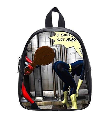 Harley Quinn Batman Joker Custom School Bag Backpack L ...