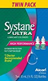 SYSTANE ULTRA Lubricant Eye Drops, Twin Pack, 10-mL Each
