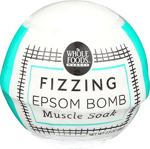 Whole Foods Market Muscle Soak Fizzing Epsom Bomb 23 oz