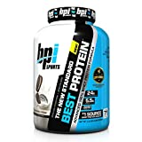 BPI Sports Best Protein, Cookies & Cream, 5 Pound