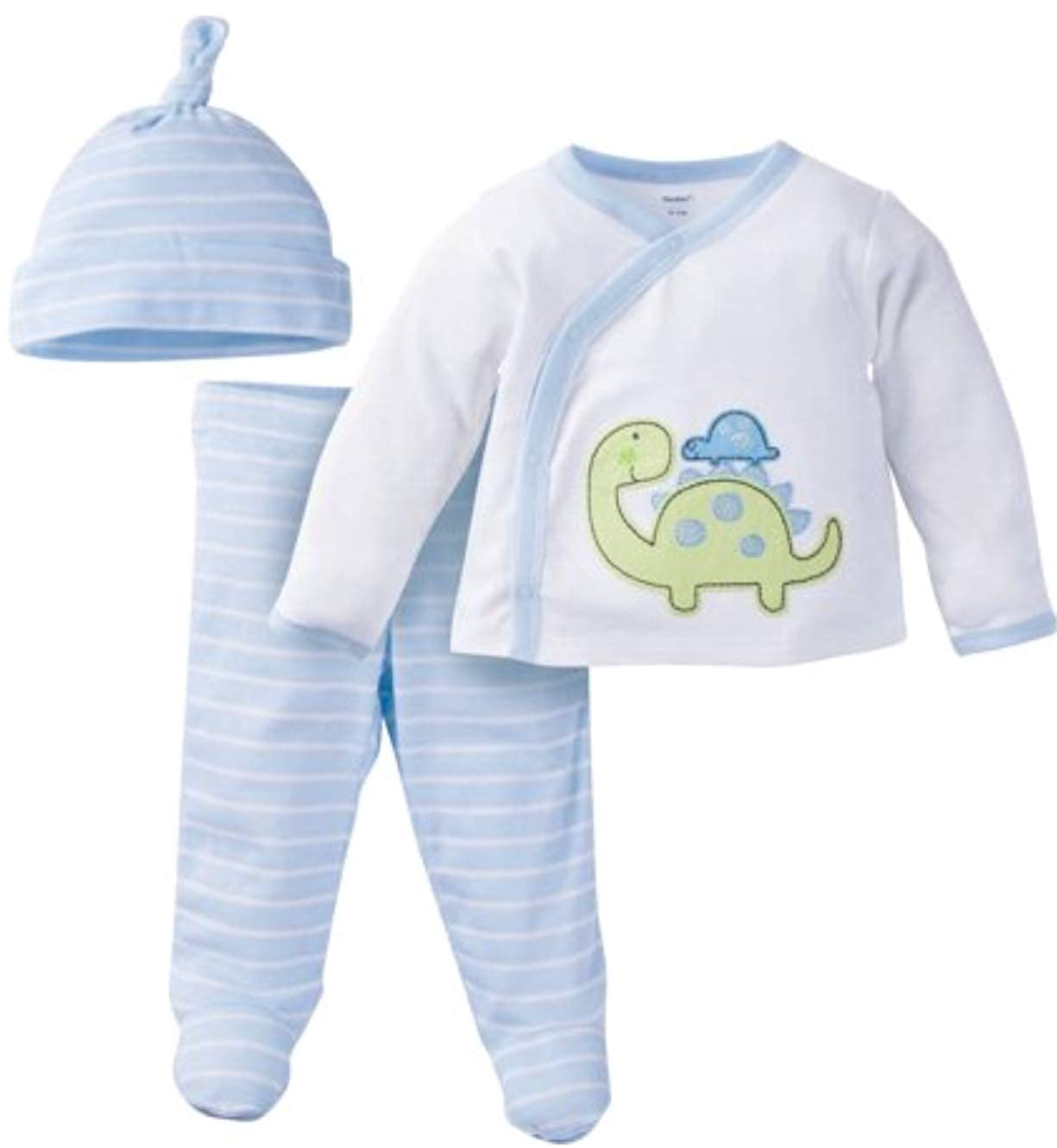 "Gerber Newborn Baby Boy Layette Set /""Take Me Home/"" Outfit"