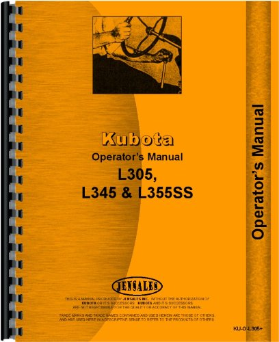 51HUlxKDI4L kubota kubota l345dt dsl 4wd operators manual kubota manuals kubota l3400 wiring diagram at bayanpartner.co