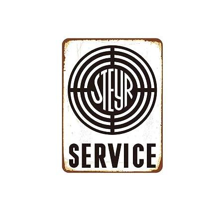 FimGGe Shell Service Plaque Placas de Metal Vintage Inicio ...