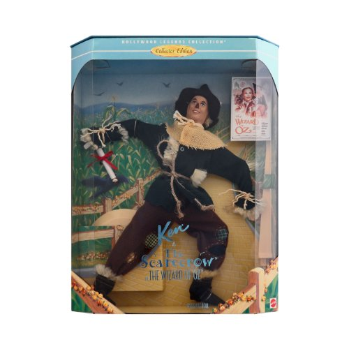 - Barbie Collectibles ~ The Wizard of Oz ~ Ken Doll as The Scarecrow ~ Hollywood Legends Collection Collector Edition