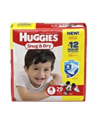 HUGGIES Snug & Dry Diapers, Size 4, 29 Count (Packaging May Vary) BOBEBE Online Baby Store From New York to Miami and Los Angeles