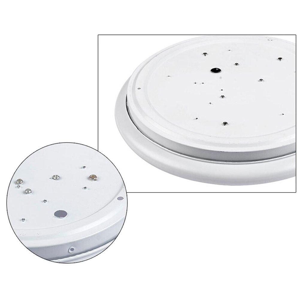 12W llevó la luz de techo 6500K inteligente Inducción de la lámpara de inducción de la microonda techo abajo iluminación para el cuarto de baño de la cocina ...