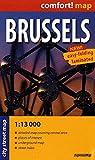 Bruselas 1:13.000 plano de bolsillo plastificado. ExpressMap. (Comfort ! Map)