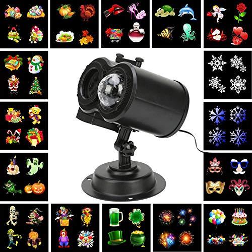 Innens LED Decorative Projector Lights, 2-in-1 Outdoor/Indoor Ocean