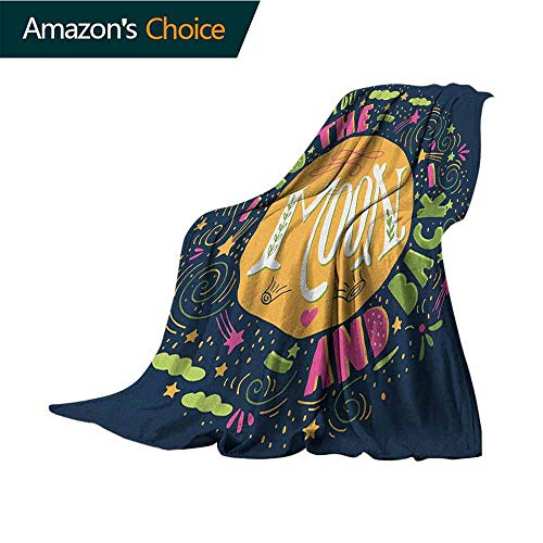 Cheap I Love You Weighted Blanket for Kids Cute Romance Shapes Hot Love Clouds Childish Inspirational Creative Valentines for Bed & Couch Sofa Easy Care 30
