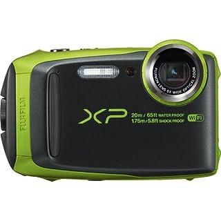 """Fujifilm Waterproof Digital Underwater Camera with 3"""" LCD, Green (xp120)"""