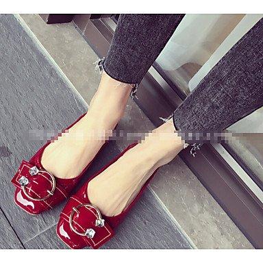 Cómodo y elegante soporte de zapatos de tacón para mujer otros piel sintética al aire libre negro verde gris burdeos rosa