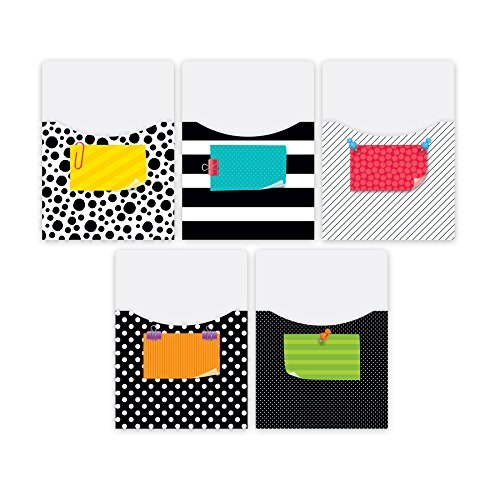 Creative Teaching Press Library Pockets Extra Large Bold & Bright  (7076)