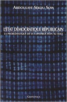 L'Etat Democratique Republicain