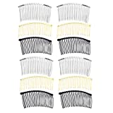 Frcolor Hair Comb 20 Teeth Bridal Hair Clip Combs