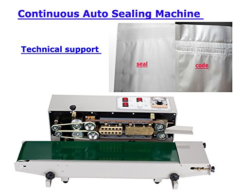 TECHTONGDA Continuous Auto Sealing Machine Sealer Horizontal PVC Membrane Bag Film - Sealing Machine