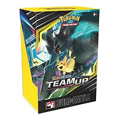 Pokemon Sun & Moon Team UP Build & Battle Prerelease Kit Box EN SM09: Toys & Games