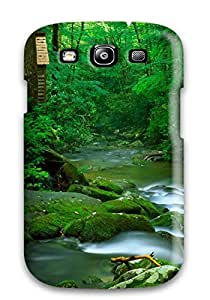 (PuyxZKq10074MkgFx)durable Protection Case Cover For Galaxy S3(stream Earth Nature Stream)