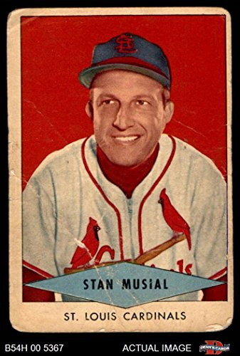Amazoncom 1954 Red Heart Stan Musial St Louis Cardinals
