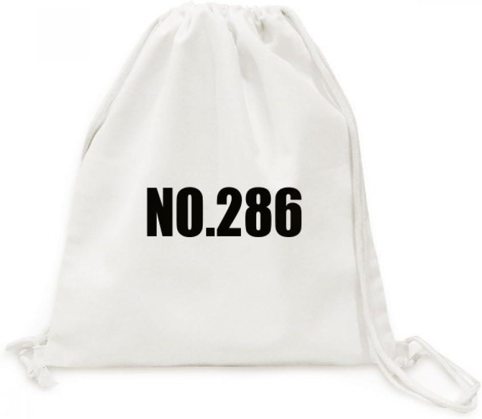 DIYthinker Viajes Nombre Número de la Suerte No.286 de la Lona del morral del Lazo Bolsas de la Compra