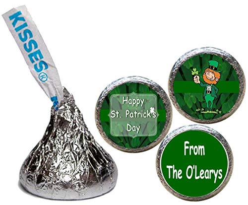 (St. Patrick's Day Stickers for the Bottom of Chocolate Kisses (Set of 108)(KH34))