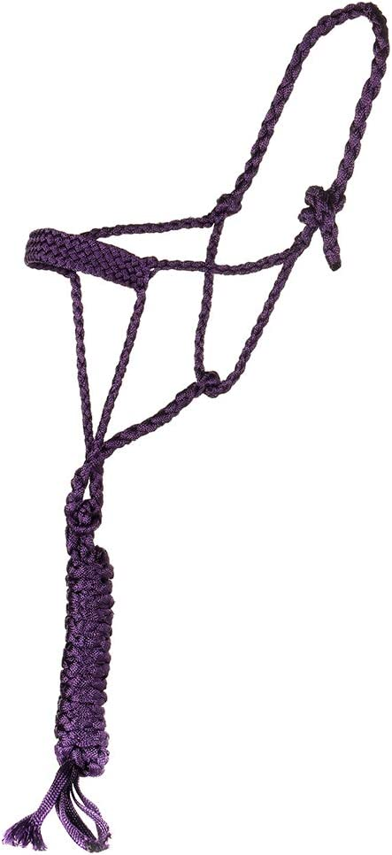 Brand New and High Quality Details about  /Western Horse Mule Tape Halter with 10ft Lead Rope