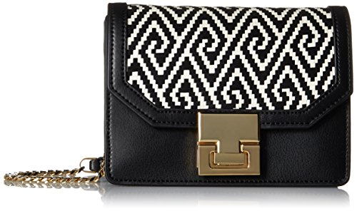 Ivanka Trump Hopewell Crossbody, Black Woven