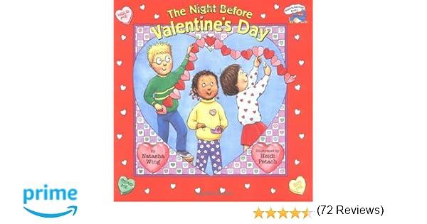 The Night before Valentine's Day (Reading Railroad Books): Natasha ...
