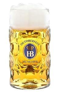 """Jarra de cerveza de octubre de A/jarra """"Múnich Hofbräu"""" (1 litro)"""