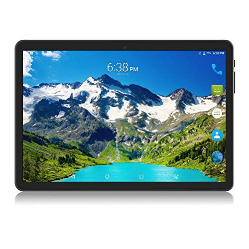 CHAOHENG 10 Inch Tablet Phone,10 Core Tablet Deca-Core Android 8.0,1920x1200 IPS,6GB RAM/64GB ROM,Double SIM,Telephone Slice WiFi GPS(Black)